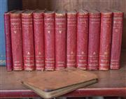 Sale 8435A - Lot 50 - 11 miniature volumes of the works of Shakespeare by Cassell & Co, London together with a miniature A Christmas Carol by Charles Dick...