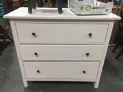 Sale 8822 - Lot 1707 - Modern Chest of 3 Drawers