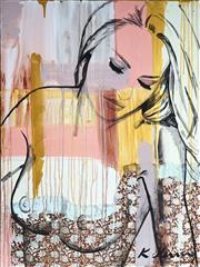Sale 9034A - Lot 5026 - Krisite Stenning (1980 - ) - Daisy 123 x 91 cm