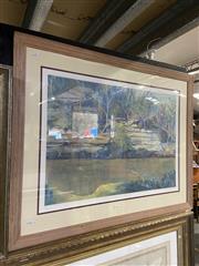 Sale 9053 - Lot 2074 - Neroli Weaver, Lane Cove National Park, limited edition print, 74 x 95 cm