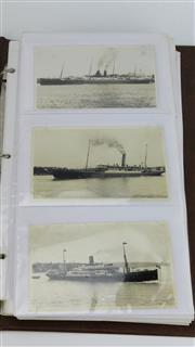 Sale 8425 - Lot 5 - Australian 19th & 20th Century Steamships Photo Album