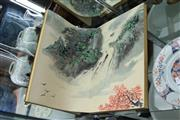 Sale 8292 - Lot 97 - Guan Shanyue Signed Painting Album