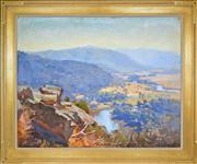 Sale 8363 - Lot 547 - Ernest Buckmaster (1897 - 1968) - Murray Valley between Wanya & Granya, 1937 60 x 75cm
