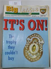 Sale 8404S - Lot 53 - 1996 Big League Programmes - Vol. 77, Nos. 1, 2, 3, 4, 5, 6, 7, 8, 9, 10, 11, 12, 13, 14, 15, 16, 17, 18, 19, 20, 21, 22, 23, 24, 25...