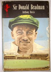 Sale 8460C - Lot 10 - Anthony Davis, Sir Donald Bradman. Cassell London 1960. 122 pages. Some water damage to covers. Good – Very good.
