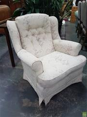 Sale 8601 - Lot 1400 - Pair of Wingback Armchairs
