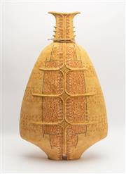 Sale 8770 - Lot 17 - Avital Sheffer (born 1954) Meshalim I, 2009 ceramic vase, H x 64cm