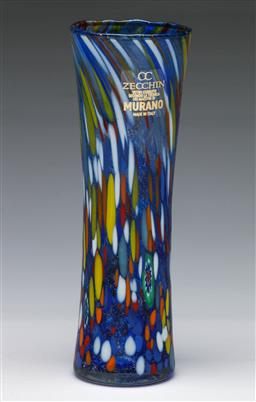 Sale 9148 - Lot 6 - Zecchin art glass murano vase in box (H:18.5cm)