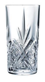 Sale 8340B - Lot 100 - Cristal Darques Paris Set Of Six Masquerade Highball Tumblers(380ml)