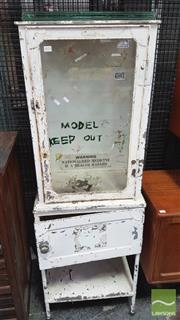 Sale 8395 - Lot 1073 - Industrial Medicine Cabinet