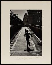 Sale 8770 - Lot 13 - Jeff Carter (Australian 1928-2010) Joie de Vivre photograph, 1962, 50cm x 40cm