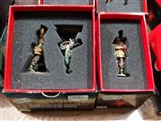 Sale 8817C - Lot 536 - K&C Figures (2); Marching into Captivity & Walking Wounded