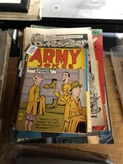Sale 8819 - Lot 2436 - Collection of Vintage Comics incl. The Opposite Sex ; Army Jokes; Phantom, 854, 857; etc