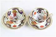 Sale 8935D - Lot 606 - A Pair of Shelley Duos In The Imari Pattern