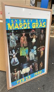 Sale 9011 - Lot 2054 - William Yang/ Peter Tully - Sydney Mardi Gras Poster -1985 93 x 63 cm