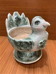 Sale 9022 - Lot 1006 - Italian Mid Century Figural Planter and Undertray, PossiblyIvo De Santis for Gli Etruschi (h:23.5cm)