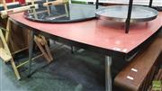 Sale 8390 - Lot 1548 - Retro Dining Table
