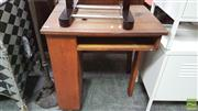 Sale 8390 - Lot 1142 - Vintage Timber Desk