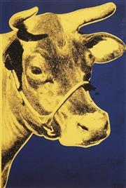 Sale 8633A - Lot 5087 - Andy Warhol (1928 - 1987) - Cow 61 x 40.5cm (frame: 90 x 68cm)