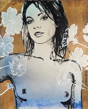 Sale 8901 - Lot 545 - David Bromley (1960 - ) - Belinda 152.5 x 122 cm