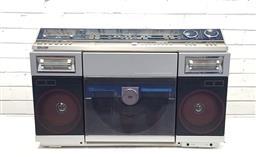 Sale 9117 - Lot 1011 - Vintage Sharp VZ-2000 ghetto blaster