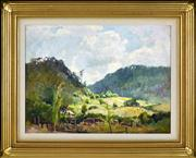 Sale 8363 - Lot 565 - John (Jack) Salvana (1873 - 1956) - Landscape, 1944 28 x 38.5cm