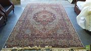 Sale 8390 - Lot 1286 - Persian Woolen Rug (300 x 190cm)
