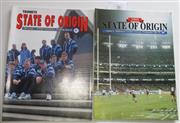Sale 8404S - Lot 56 - 1995 Big League State of Origin Programmes. First Game 15th May, Sydney; plus 1995 Second Game 31st May, Melbourne