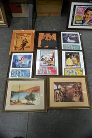 Sale 8441T - Lot 2011 - Collection of Various Artworks Including: Disney Prints, framed, various sizes