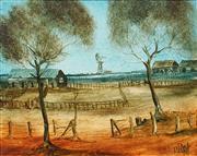 Sale 8597 - Lot 545 - Kevin Charles (Pro) Hart (1928 - 2006) - Landscape 39.5 x 49.5cm
