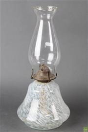 Sale 8608 - Lot 68 - Art Glass Kerosene Lamp