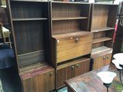 Sale 8601 - Lot 1554 - Large Four Piece Wall Unit