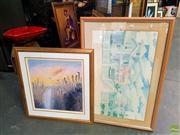 Sale 8659 - Lot 2083 - Arthur Boyd Print Framed & Another Print (2)