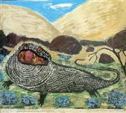 Sale 8752A - Lot 5011 - Harry Rosengrave (1899 - 1986) - The Australian Dragon, 1978 47 x 52cm