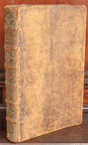Sale 8976H - Lot 7 - Gerard Brandt, La Vie De Michel De Ruiter...L Histoire Maritime, publisher Waesberge, Boom, a Someren & Goethals, 1698, leather bou...