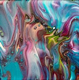 Sale 9143A - Lot 5031 - RENAE WHEATON (1974 - ) - Emotions, 2020 20 x 20 cm
