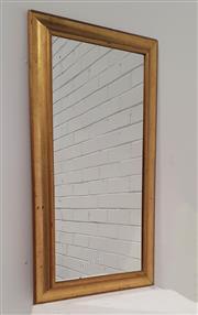 Sale 9071 - Lot 1071 - Gilt Framed Mirror (h:97 x d:52cm)