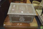 Sale 8390 - Lot 1195 - Brass Coal Box