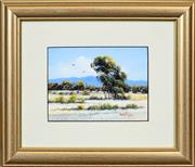 Sale 8422T - Lot 2085 - Michael Taylor (1933 - ) (2 works) - High Flyers & Hiking in the Flinders 11 x 15cm, each