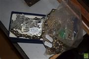 Sale 8509 - Lot 2262 - Oriental Silver Belt A/F, Pendant Locket, Buttons, etc