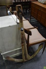 Sale 8550 - Lot 1048 - Large Antique Reef Anchor