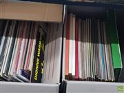Sale 8582 - Lot 2486 - 2 Boxes of Records incl Diane Warwick