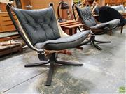 Sale 8625 - Lot 1045 - Pair of Falcon Chairs -