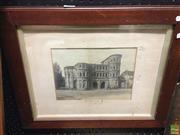 Sale 8622 - Lot 2079 - Trier Porta Nigra, photographic print, 41 x 50cm (frame size)
