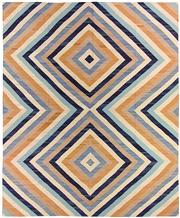 Sale 8626A - Lot 126 - A Cadrys Afghan Tribal Kelim Wool Carpet, Size; 430X350cm, RRP; $4000
