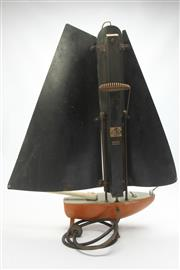 Sale 8658 - Lot 27 - Bunting English Made Ship Form Vintage Heater
