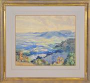 Sale 8363 - Lot 564 - William Bustard (1894 - 1973) - Landscape, 1934 46 x 55.5cm