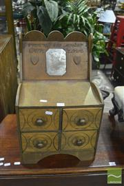 Sale 8361 - Lot 1078 - Spice Cabinet