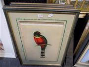 Sale 8437 - Lot 2048 - John Gould (1804 - 1881) (6 works) - Various Bird Species 38 x 28cm, each