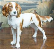 Sale 8435A - Lot 29 - A Goebel figure of a King Charles Spaniel, W 37cm